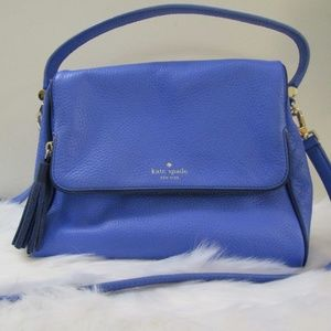 Kate Spade Blue Crossbody Purse